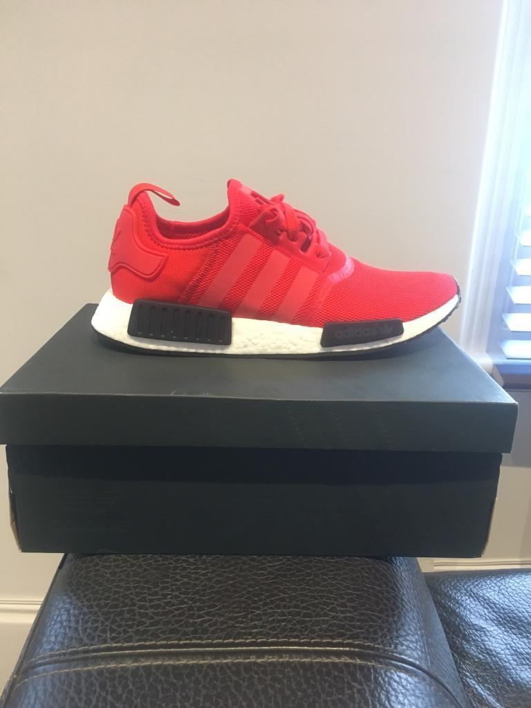 Adidas NMD R1Red/White/BlackUK 10in Tooting Broadway, LondonGumtree - Brand new in box, never worn. Available for pick up or delivery. Open to offers