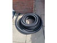60mm Perforated Land Drain Pipe with GeoTextile Sock Approx 22 Metres