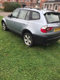 Bmw x3 2005 2.5 petrol manual .
