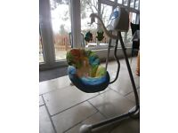 Fisher Price Cradle Swing (2 Way) in Excellent Condition