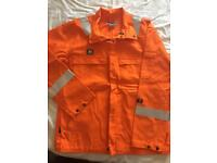 Offshore flame retardant Jacket and Dungarees.