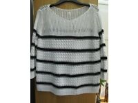 2 X LADIES JUMPERS SIZE LARGE