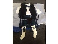 Baby boy kilt with all accessories