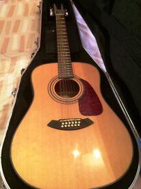 Fender CD-160SE 12-String Electro Acoustic guitar
