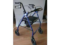 Mobility walker/trolley rollator