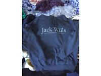 Jack wills hoody in a small for sale  East Yorkshire