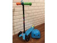 Mini Micro Scooter & Helmet
