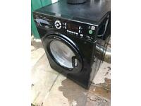 Hotpoint Washer Dryer WDUD9640 9KG In Black
