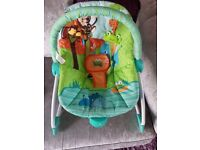 Bright stars infant to toddler Rocker chair