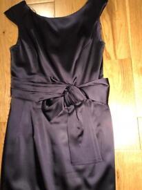 Purple Hobbs dress size 10