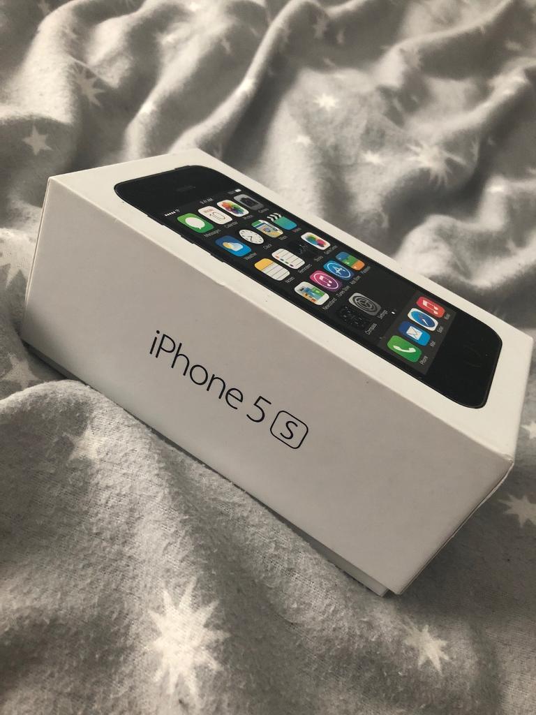 iPhone 5s Space Grey 16GB (Virgin)
