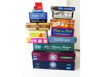 JOB LOT OF 16 GAMES, QUIZ'S, TRIVIA, FUN FOR ALL THE FAMILY