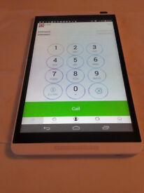 Phone Tablet ~ Huawei MediaPad M1,EE 4G LTE,16gb, model S8-301L, White/Silver
