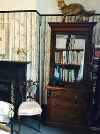 Vintage tall boy, cabinet and chest of drawers