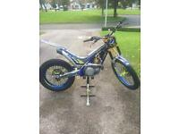 Sherco ST300 Factory Trials Bike