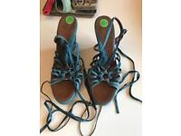 Size 7 ladies Bally sandals
