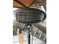 Full height electric patio heater