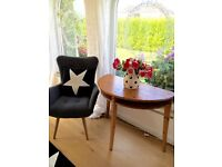 Pine console/occasional table/extension to main table! Very attractive, versatile piece of furniture