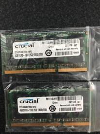 crucial memory 8 gb 4x4