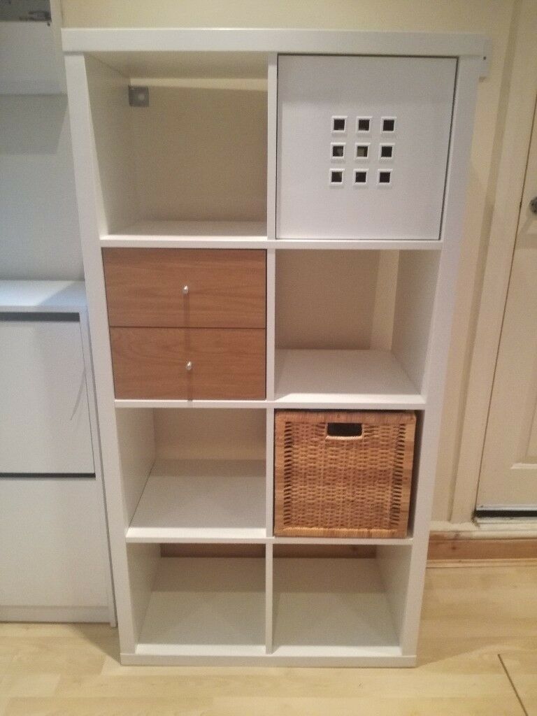 ikea kallax with drawers & inserts   in horfield, bristol   gumtree