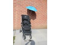 Black iCandy Cherry Travel System with Carrycot