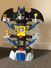 Imaginext batman tower toy