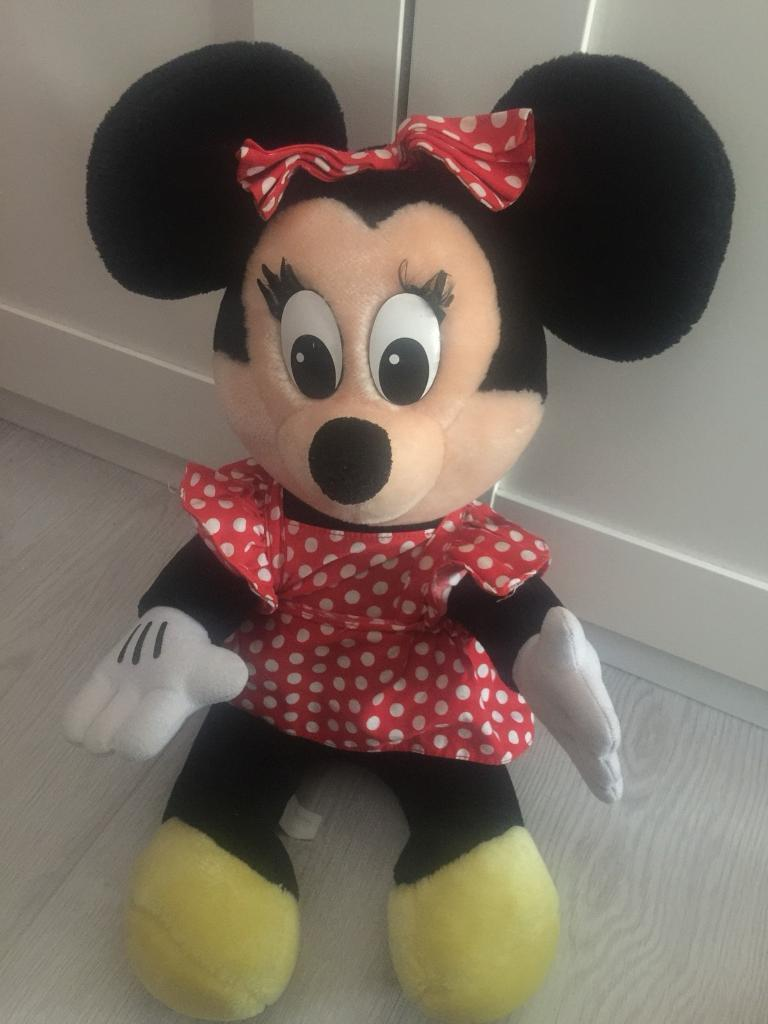Disney store Minnie Mouse teddy