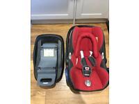 Maxi-Cosi seat & Isofix Base
