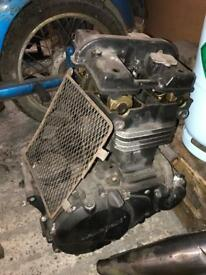 Kawasaki gpz ex500 500s engine for parts
