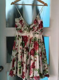 Lipsy Floral Dress Size 10