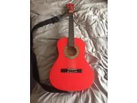 Guitar Palma 3/4 red