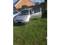 Ford Fiesta lx 2003 1.25 none runner please read