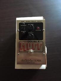 Electro-harmonix double Muff guitar pedal