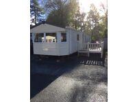 3 bed static caravan at Tummel Valley Perthshire