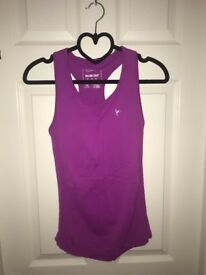 Pre-Loved Atmosphere Purple Workout Top Size 10-12 UK