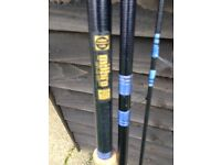 assorted fishing fishing rods from £5.00 each.