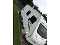 Caravan Sprite Quattro FB 2010 6 berth with awning and annex plus extras