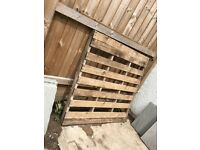 2nd hand wooden pallets