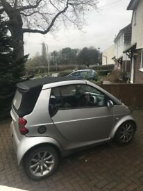 Smart car cabriolet 2005 breaking for parts
