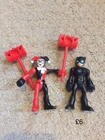 Batman Imaginext figures