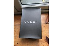 Womans gucci shoes size 5 brilliant condition with box