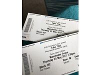 2 Take That tickets for sale