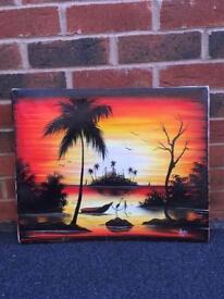 Tropical Canvas