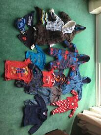 Baby boy winter bundle 6-9 months 6-12 months designer snow suit onesie mamas papas