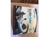 Cardio Scala rider solo Bluetooth motorbike headset. £30