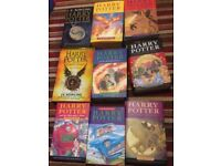 hard back harry potter books