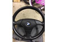 Bmw e36 steering wheel. 325 328 318 316