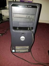 Dell w7 pc tower vgc