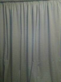 MARK'S AND SPENCER'S FULLY LINED CURTAINS WITH PENCIL PLEAT HEADING, SIZE IS 90 INCHES WIDE X 90