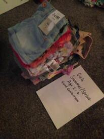 Girls clothes age 2-4